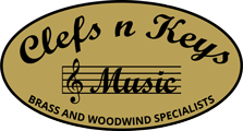 Clefs n Keys Music logo