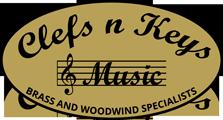 Clefs n Keys Music logo