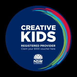 creative kids voucher logo